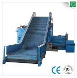 Machine semi-automatique horizontale hydraulique de presse de carton