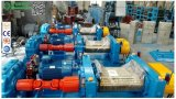 Принимая рулонов 18-дюймовый резиновый мельница для резиновых заслонки смешения воздушных потоков