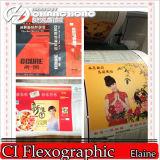 Machine flexographique ondulée à grande vitesse de presse typographique de papier (couleur 4) (CH886-600)
