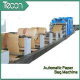 Bolsos de papel de alto control digital que hacen la máquina