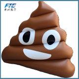 Riesiger Emoji Poop-aufblasbarer Pool-Gleitbetrieb