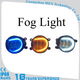 Markcars 둥근 DRL 호박색 LED 안개 램프