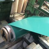 PPGI 강철 코일이 입힌 0.50*1250mm 색깔에 의하여 직류 전기를 통했다