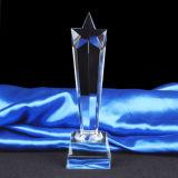 Premio di cristallo del trofeo della stella per il regalo del ricordo