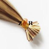 Cabelo humano desenhado natural da ponta minúscula do cabelo do russo da cor do piano