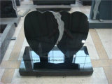 De Polishsed Geslepen Gevlamde Zwarte Absolute Zwarte Grafzerk van de Grafsteen van de Grafsteen van het Graniet Shanxi