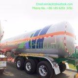 Transport-Kohlenstoffstahl-halb Becken-Schlussteil des flüssigen Gas-45000L