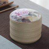 陶磁器の茶瓶の陶磁器の密封された瓶の陶磁器の装飾的な瓶