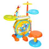 Kit de tambor de instrumentos musicais de brinquedos de plástico (H2162084)