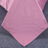 Algodão Egípcio de cor sólida edredão cobrir camas de luxo situado