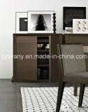 Armário de madeira do vinho do armário da sapata do estilo moderno italiano (SM-D25A)