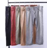 Mens-Jeans-Hosen Tencel Hosen-Sand-Wäsche-Denim-Hosen