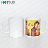 Tazza di ceramica rivestita della tazza di sublimazione di Freesub 11oz