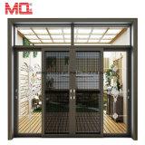 Porta deslizante pesada do projeto Rated superior da grade de portas do vidro de deslizamento