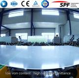 vidro solar do arco de 3.2mm para o módulo da pilha