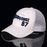 3D Embroidery Patternの方法Breathable Baseball Sport Mesh Hat