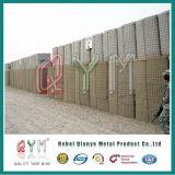 Barrière militaire galvanisée plongée chaude de Hesco de mur de sable de bastion de Hesco