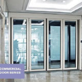 Faltende automatische Tür