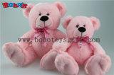 니스 스카프를 가진 연약한 귀여운 백색 색깔 미소 장난감 곰
