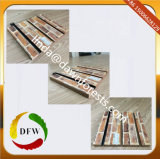 Slatwall/gekerbter MDF mit dem OberflächenAcrylic&PVC