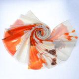 sciarpa solubile in acqua delle lane della vernice 100%Hand