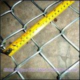 Площадь оцинкованной проволоки сетка коммерческих звено цепи ограждения квадратного отверстия