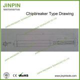 Chipbreaker 유형 3.175mm를 가진 절단기