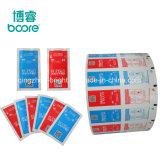 De Verpakking van het Document van de Folie van het aluminium voor de Zwabber van de Alcohol/Nat Stootkussen Wipe/Medical