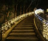 [لد] حزب وعطلة زخرفة دلّاة جليديّة ضوء لأنّ حديقة زخرفة