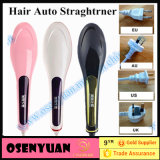 LCD表示Hair Straightener BrushとのOEM Best Quality