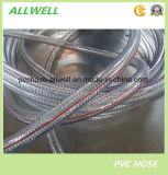 Boyau renforcé de pipe de débit industriel de fil d'acier de PVC