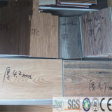 Pavimentazione impermeabile del vinile di scatto di Spc di struttura del materiale di legno del Virgin