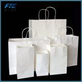 Venda por grosso de Compras Impresso Personalizado Saco de papel Kraft Marrom