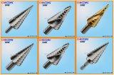 HSS Step Drill com flauta reta (SSHS)