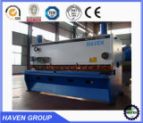 4X4000 máquina de corte hidráulico da chapa de aço para o mercado europeu