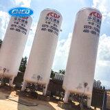 Tanque de armazenamento criogênico do CO2 do tanque do pó da isolação do vácuo
