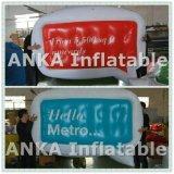 Промотирование рекламируя раздувной воздушный шар блимпа PVC гелия