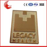 Venta directa de fábrica insignia metálica promocional