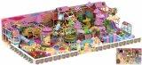 子供のための美しいピンクの娯楽屋内運動場