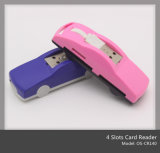Automobile Shape 43 in 1 USB Card Reader (OS-CR140)