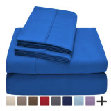 最上質の最も柔らかい寝具1800のシリーズ豊富な資金源4部分シートセット
