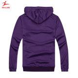 Venda superior Teamwear Healong Cortar&Costuradas Blusa com capuz de Impressão Simples para venda