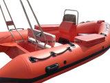 Aqualand 14feetの堅く膨脹可能な救助艇の/Ribの哨戒艇の/Motorのボート(RIB420B)