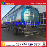 45000litres huile comestible pétrolier de l'aluminium semi-remorque à 3 essieux