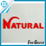 Изготовленный на заказ логос крома 3D, стикер PVC логоса автомобиля крома