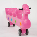 Kind-Tierliebhaberei-Pferden-Sprung-Mitfahrer-Schwingpferden-Spielwaren