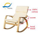 고품질 여가 나무로 되는 흔들 의자