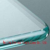 China 12mm de alta qualidade super grande de vidro temperado