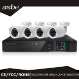 cámaras de seguridad del CCTV de la definición del kit de 1MP 4CH Ahd DVR altas