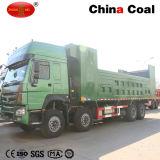 8*4 덤프 팁 주는 사람 트럭을 이동하는 HOWO 광산 위치